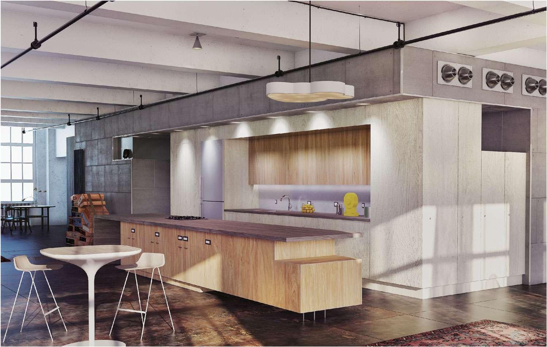 Tủ bếp sử dụng gỗ công nghiệp
