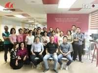 Buổi đào tạo sản phẩm phụ kiện Titus cho nhân viên công ty TNHH Minh Long