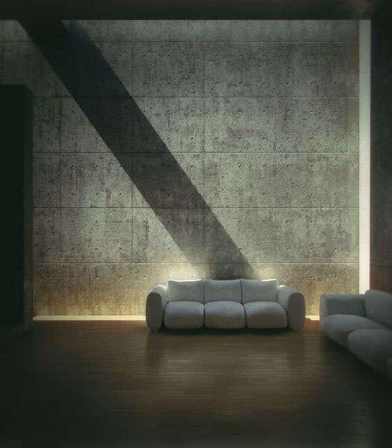 Ánh sáng được tiết chế vừa đủ để đem lại cảm giác thư thái