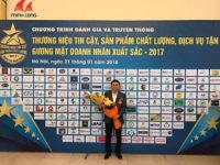 Gỗ Minh Long nhận cúp vàng Thương hiệu tin cậy – Sản phẩm chất lượng – Dịch vụ tận tâm 2017