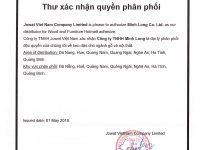 Gỗ Minh Long trở thành đại lý phân phối độc quyền keo dán Jowat tại thị trường miền Trung