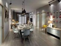 """Kết hợp những bề mặt """"đắt giá"""" trong không gian nội thất"""