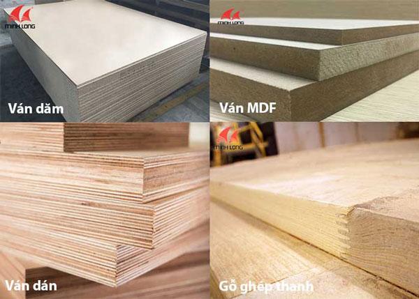 Sản phẩm gỗ công nghiệp của Gỗ Minh Long