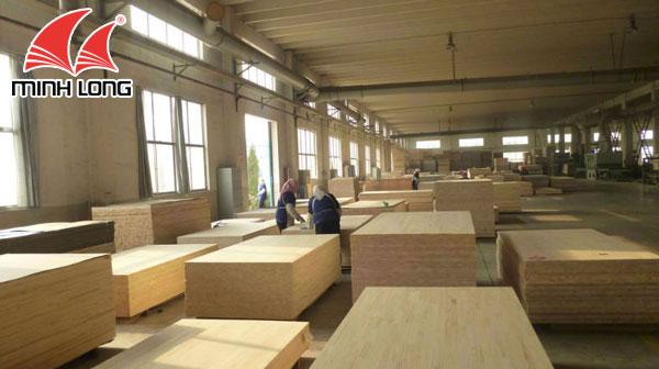 Sản xuất gỗ thông ghép