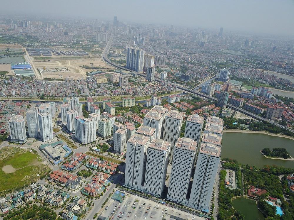 tỉ lệ xây dựng nhà chung cư ở các thành phố/đô thị lớn tăng mạnh