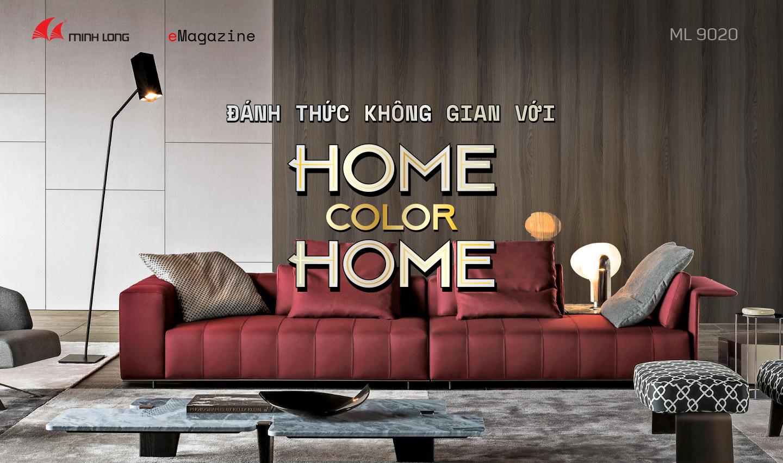 eMagazine 4/2020: Đánh thức không gian với Home Color Home