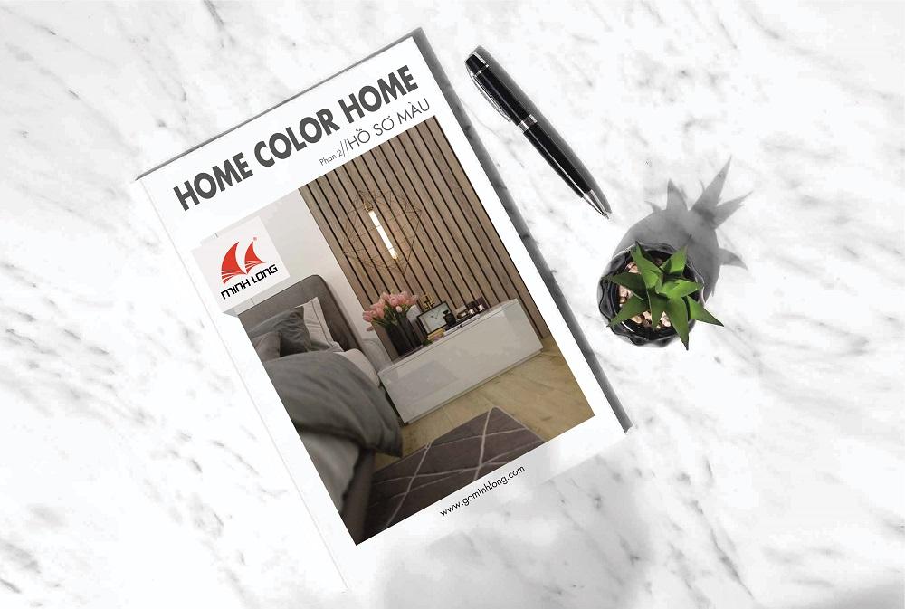 Hồ sơ màu Gỗ Minh Long: Home Color Home