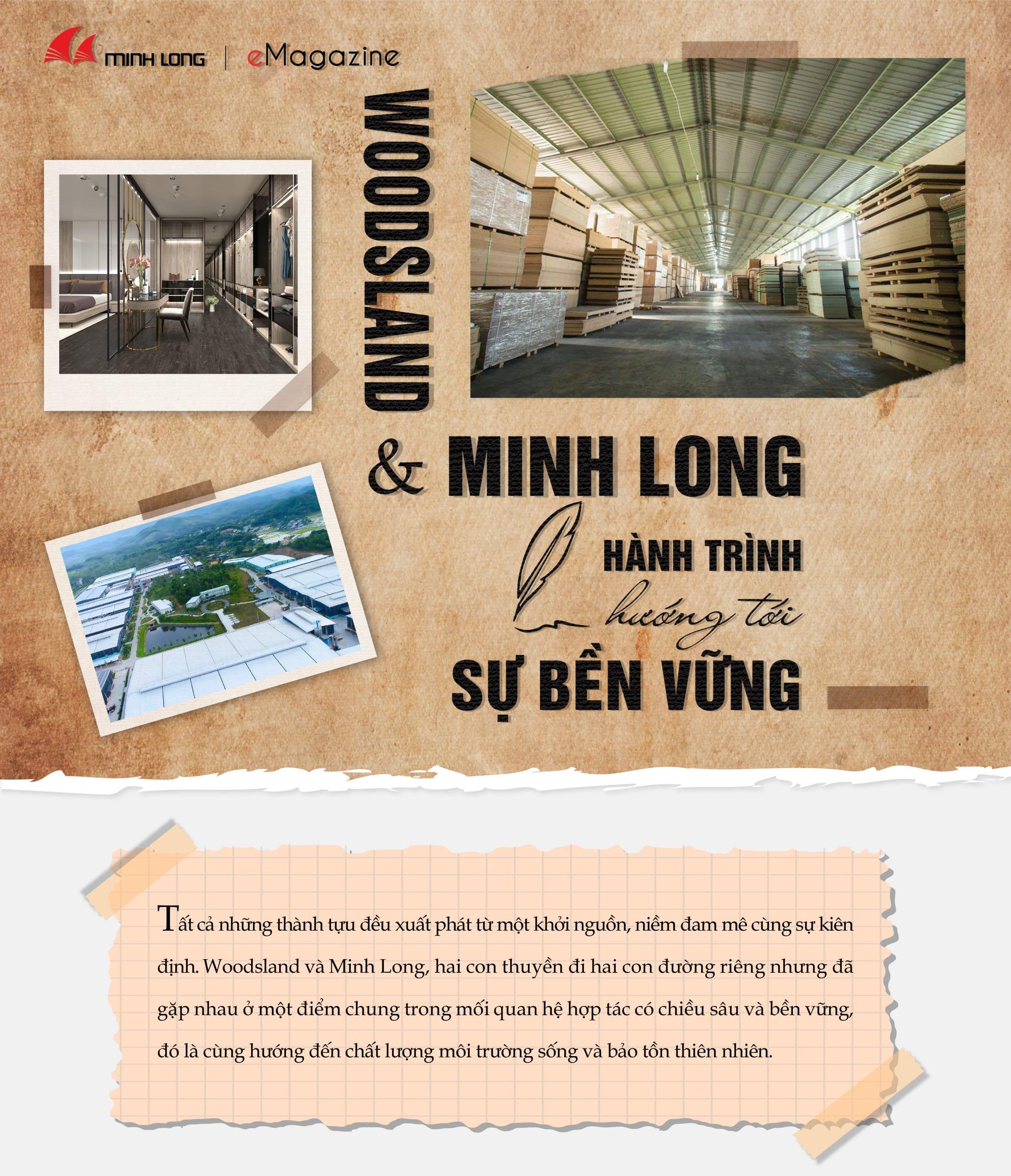 eMagazine tháng 10 - Minh Long - Woodsland - hành trình hướng tới sự bền vững -1