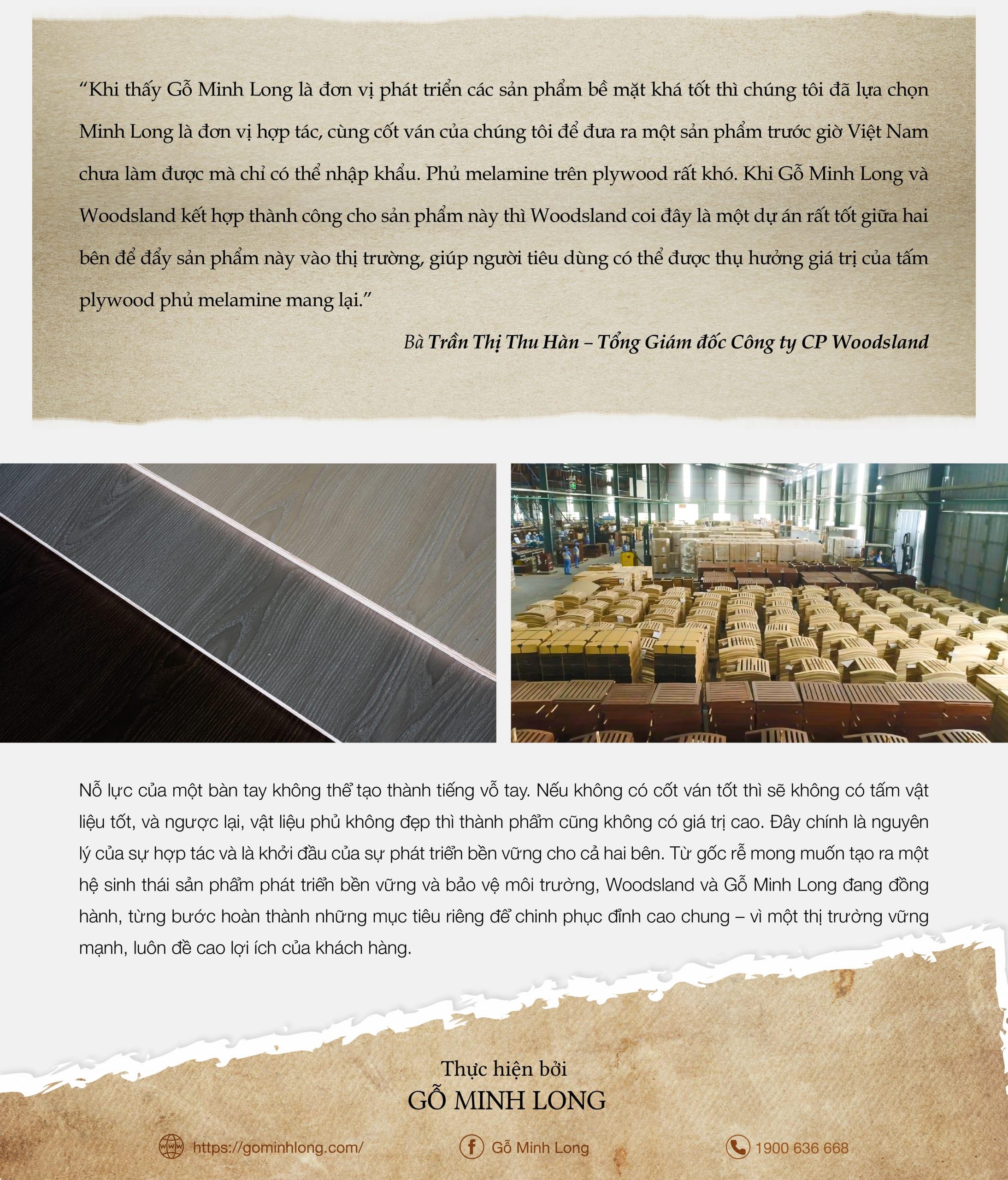 eMagazine tháng 10 - Minh Long - Woodsland - hành trình hướng tới sự bền vững -6