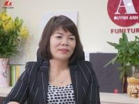 Bà Nguyễn Thị Dung – Giám đốc Công ty Nội thất Không gian đẹp Quỳnh Anh
