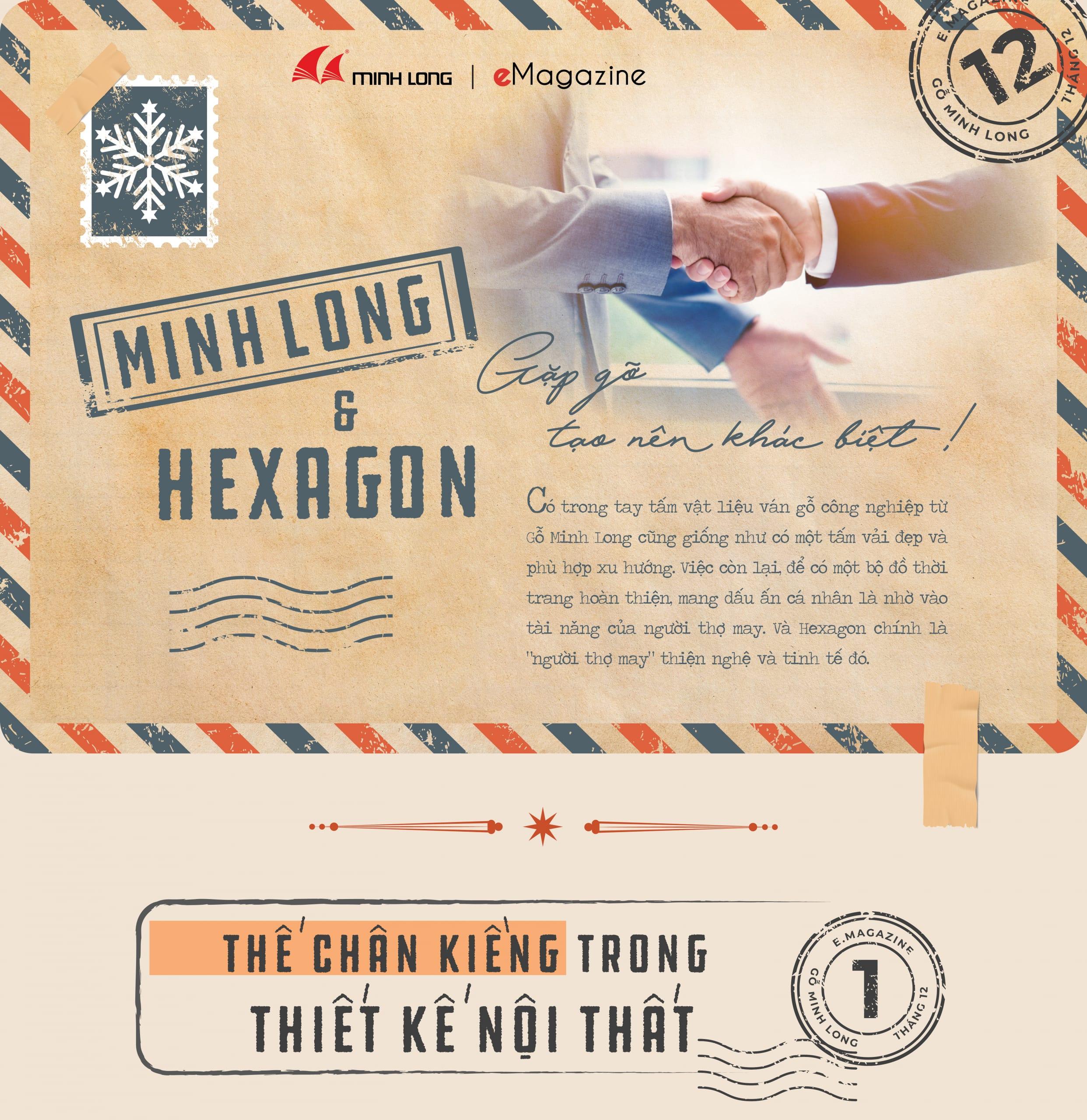 eMagazine12/2020: Minh Long & Hexagon – Gặp gỡ tạo nên khác biệt