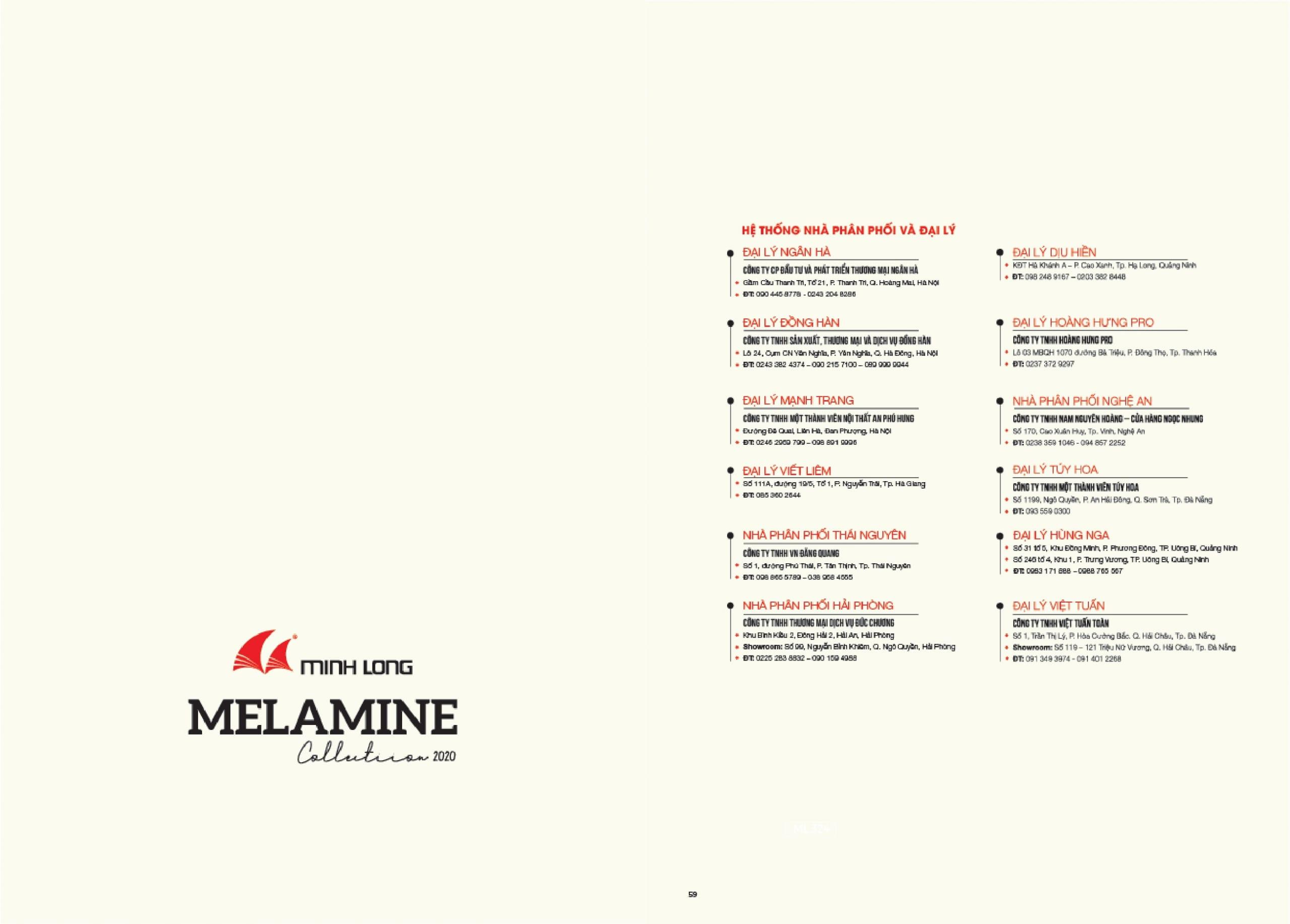 BST Melamine 2020 – 2021 - Gỗ Minh Long- 31