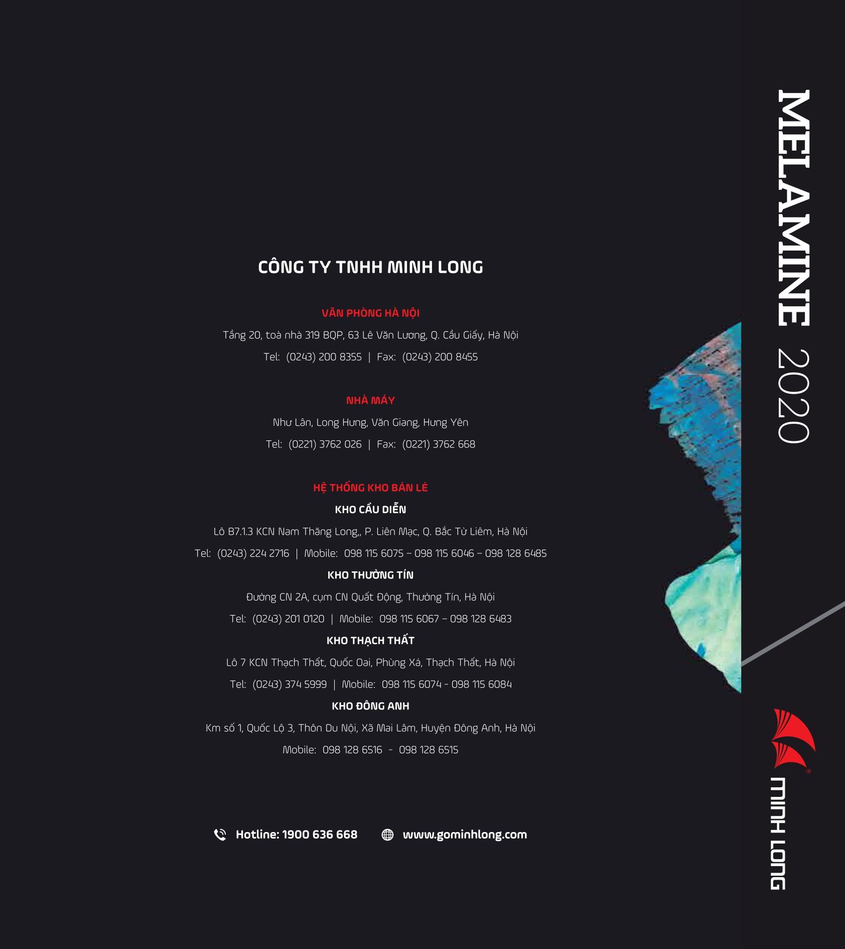 BST Melamine 2020 – 2021 - Gỗ Minh Long- 32