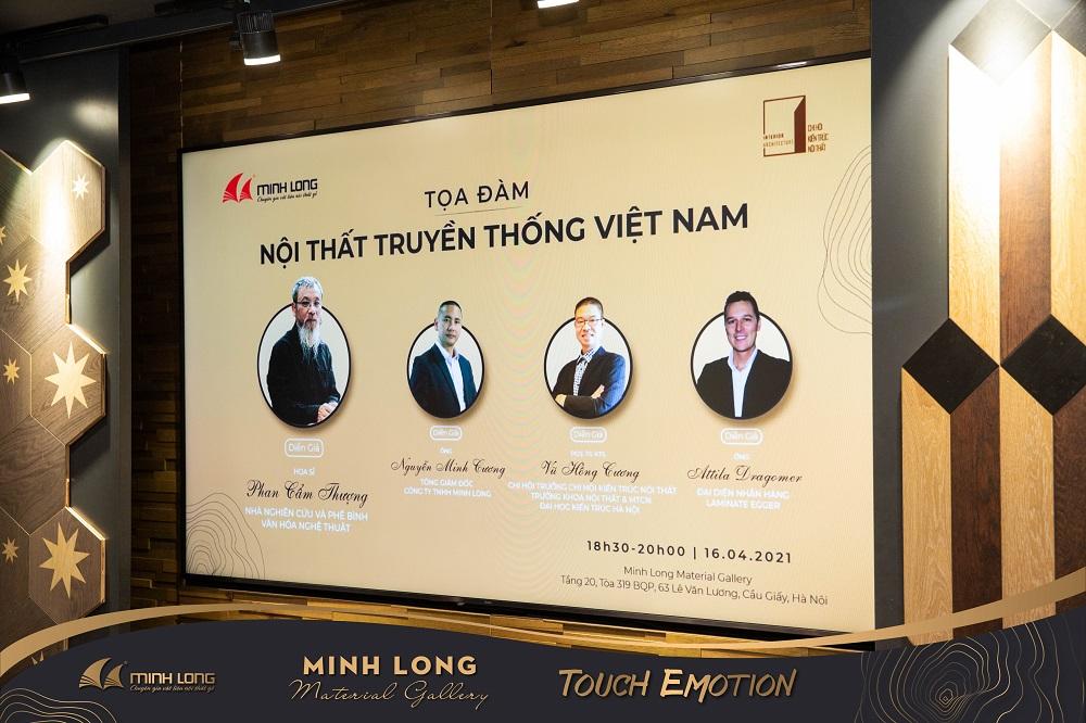 Tọa đàm với chủ đề Nội thất truyền thống Việt Nam