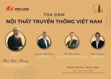 Tọa đàm Nội thất truyền thống Việt Nam
